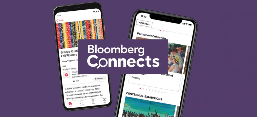 Bloomberg Connects app promo