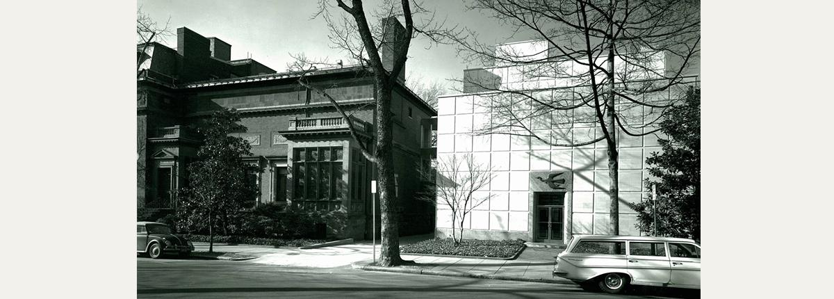 Photograph of the exterior of The Phillips Collection 1960s