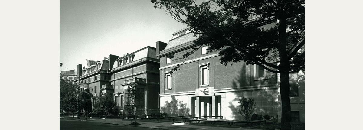 Photograph of the exterior of The Phillips Collection 1989