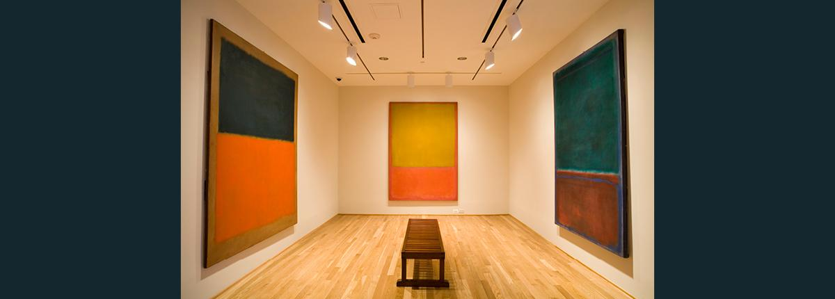 Photograph of The Rothko Room