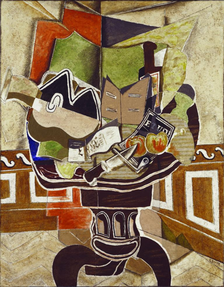 "Georges Braque, ""The Round Table,"" 1929"