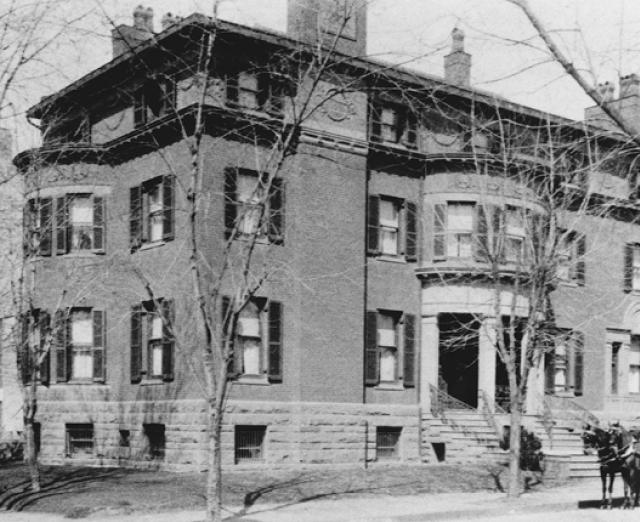 Photograph of the exterior of The Phillips Collection c. 1900