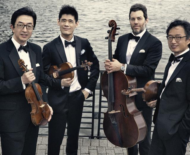 photo of the Shanghai Quartet