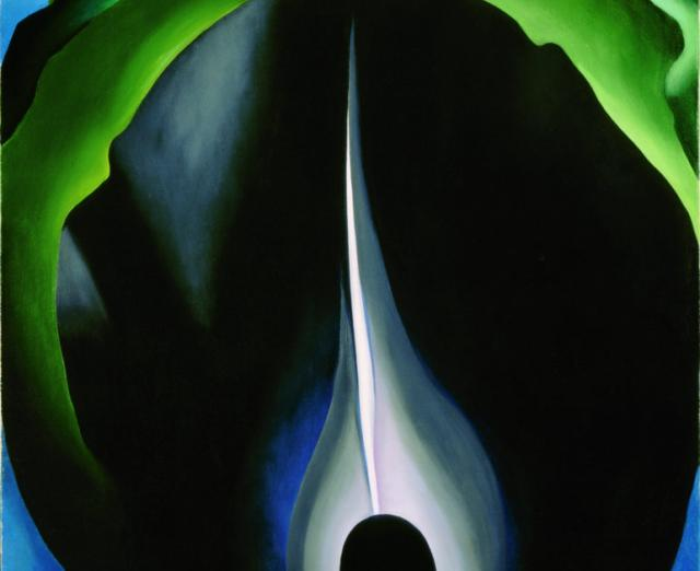 Georgia OKeeffe, Jack in the Pulpit No.IV, 1930