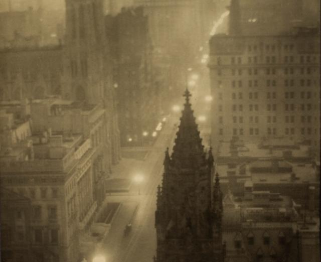 Fifth Avenue from the St. Regis by Alvin Langdon Coburn