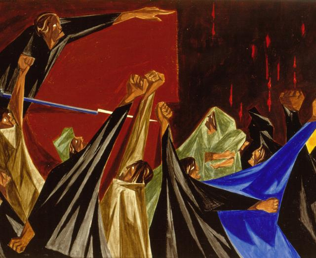 Jacob Lawrence, Struggle … From the History of the American People