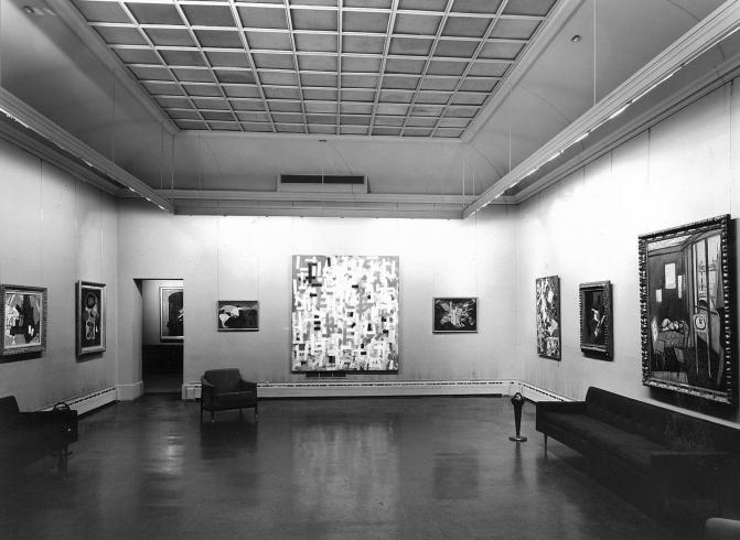 The Phillips Collection Main Gallery, 1963