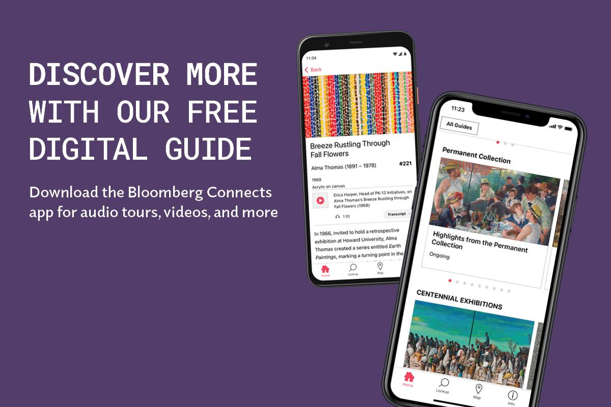 Ad for Bloomberg Connects app