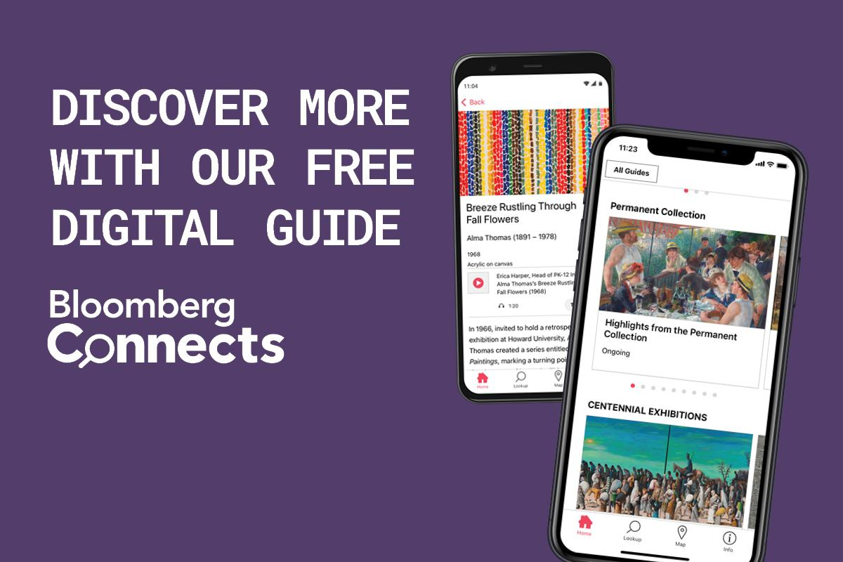 Promo  for Bloomberg Connects app
