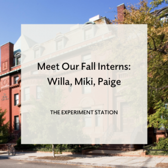 Intern blog promo: Willa, Miki, Paige