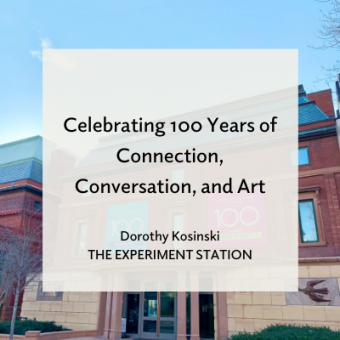 Promo for blog by Dorothy Kosinski about the Centennial