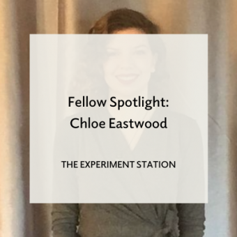"Headshot of a young girl with ""Fellow Spotlight: Chloe Eastwood"" overlaid"