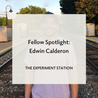 "Promo for ""Fellow Spotlight: Edwin Calderon"" blog post"