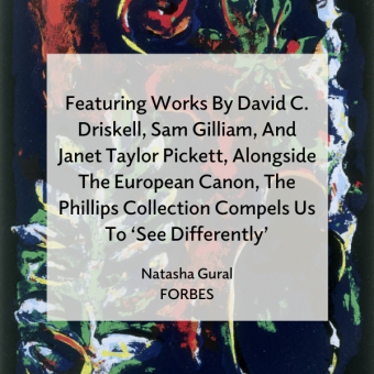 Promo for Seeing Differently review in Forbes by Natasha Gural