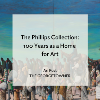 Promo for The Georgetowner article The Phillips Collection: 100 Years as a Home for Art