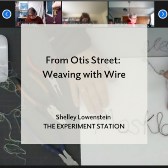 From Otis Street: Weaving the Wire blog promo