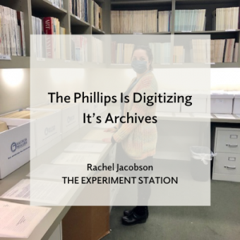 The Phillips Is Digitizing It's Archives blog promo