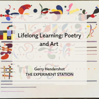 Lifelong Learning: Poetry and Art title card