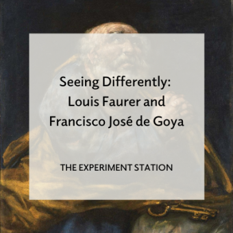 Promo for blog post Seeing Differently: Louis Faurer and Francisco Jose de Goya