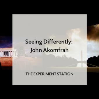 Promo for Seeing Differently: John Akomfrah blog